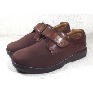 974ada33f2ca Dr. Comfort Annie Shoes Women Brown Leather 10XW